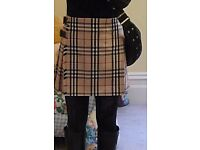 Designer authentic Burberry skirts 5 of them 40 pounds each