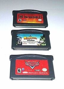 Nintendo GBA Gameboy Advance games used
