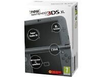 **SEALED** THE 'NEW' NINTENDO 3DS XL BRAND NEW AND INCLUDES ONE YEAR WARRANTY. LATEST ONE