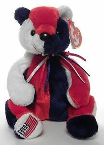 Patriot the USA-exclusive Bear Ty Beanie Baby stuffed animal
