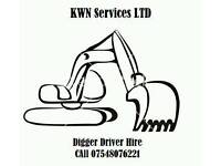Digger and Driver Hire Weston-super-Mare