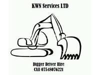 Digger Driver Hire somerset