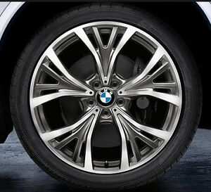 """21"""" wheel set with tires for BMW X5 and X6"""