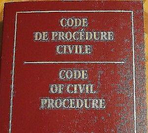 Code de procédure civile 2016-2017 Wilson Lafleur Neuf New