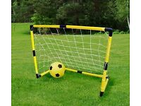 Brand new Football and Goal Garden Game Set