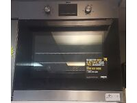 NEW Integrated/Built In Zanussi Stainless Steel Electric Oven with WARRANTY   RRP £289