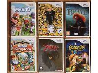 20 Wii Games Zumba Wii Draw Ltd Edition Zelda Reduced to £75