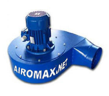 FUME EXHAUST FAN, AIROMAX 1 HP PRESSURE BLOWER FOR  FUME ARM & FUME EXHAUST