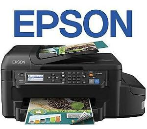NEW OB EPSON AIO PRINTER ET-4550 - 132296465 - WORKFORCE ALL IN ONE SCAN FAX COPY NEW OPEN BOX PRODUCT