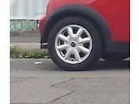 4 Mini wheels