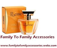 *SCENT OF SUMMER SALE*:POEME BY LANCOME E.D.P (100ml)