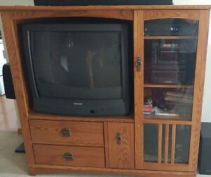 """Entertainment Center With 32"""" TV"""