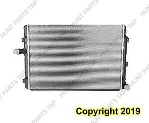 Radiator (2822) 2.0L With Inlet And Outlet On Opposite Tanks Jetta 06-14/Golf 10-14/Bettle 13-15 Volkswagen Golf 2013-20