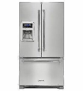 KITCHEN AID COUNTER DEPTH FRIDGES - $AVE $1500