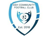 WANTED Veterans Footballers 35+ Ash Community FC