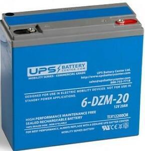 12V 20Ah 6-DZM-20 eBike Battery