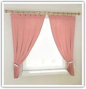 Baby Pink Curtains
