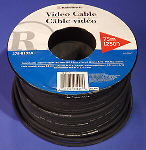 Video Cable RG-59 x 250 feet