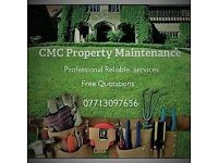 Property maintenance Handy Man man with van available no job to small