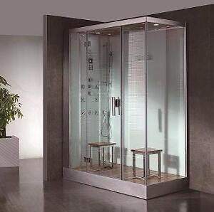 DZ961F8-W Steam Shower 59.1x35.4x89
