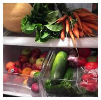 weekly certified organic fruit and vegetable service