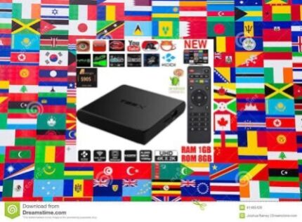 INTERNATIONAL ANDROID TV BOX ALL COUNTRIES NO SUB