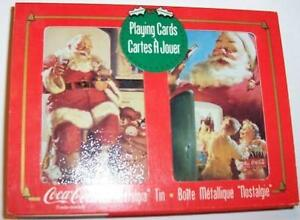Santa Playing Cards – Coke Advertisement – ONLY $10
