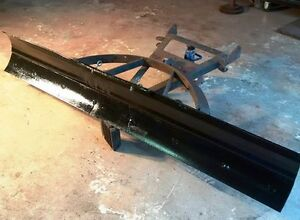 7ft snow plow blade with plow frame - Perfect For A Home plow.