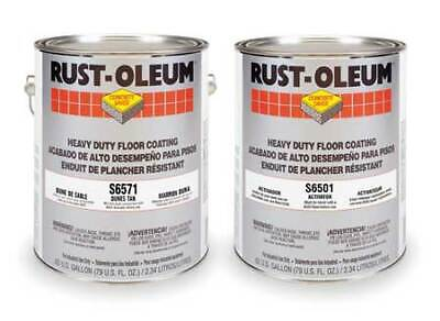 Rust-oleum S6571 Epoxy Activator And Finish Kit Dunes Tan High Gloss 1 Gal