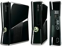 Xbox 360 with wireless controller + games / Cathays