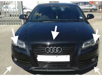WANTED AUDI A3 8P FACELIFT S LINE FRONT BUMPER AND PARTS