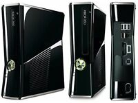 Xbox 360 250gb Console + 2 Controllers and 4 Games