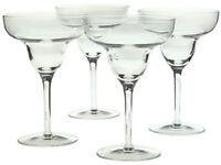 Set 4x MARGUERITA COCKTAIL Glasses BNIB BORMIOLI Italian Glass Designer MARGARITA Festive FAB!