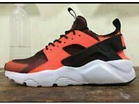Nike air huarache ultra orange size 10