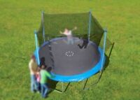 """12"""" trampoline and enclosure combo for sale"""