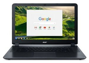 Laptop Acer Chrome Book 2heures d'usure.