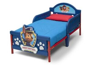 Toddler's Paw Patrol bed - AS NEW