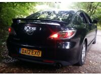 2012 Mazda 6 1.8 petrol 55k long mot!