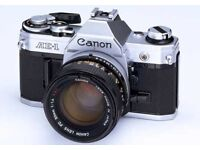 Wanted: old film cameras SLR's and compacts!