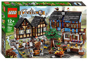 LEGO 10193 Castle Kingdoms Medieval Market Village NISB New Sealed