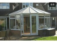 used conservatory for sale Victorian does not include gutters 6.5by 6.5