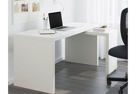 Ikea Malm Desk In White Color