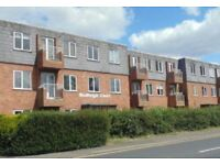 A 2 bedroomed modern flat with a large living room and kitchen