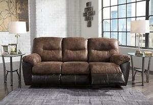 Brand New Ashley Reclining Couch and Chair Set - Payment Plan