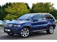 "BMW X5 3.0D SPORT LE MANS SPECIAL EDITION 20"" ALLOYS LEATHER SAT NAV TV M SERIES XDRIVE VW AUDI 4X4"