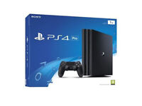 SONY PLAYSTATION PRO 1TB (NEW AND SEALED)