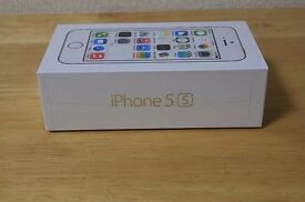 Apple iPhone 5s 16GB Gold in a Box with all the Accessories - SIM FREE UNLOCKED TO ALL NETWORKS