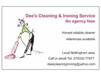 Dee's Domestic Cleaning & Ironing Services