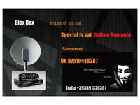 tv Italia e Romania
