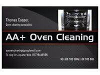 AA+OVEN CLEANING.